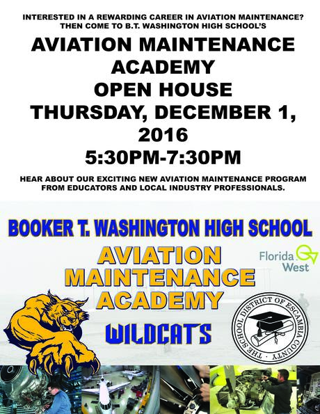 aviation maintenance open house